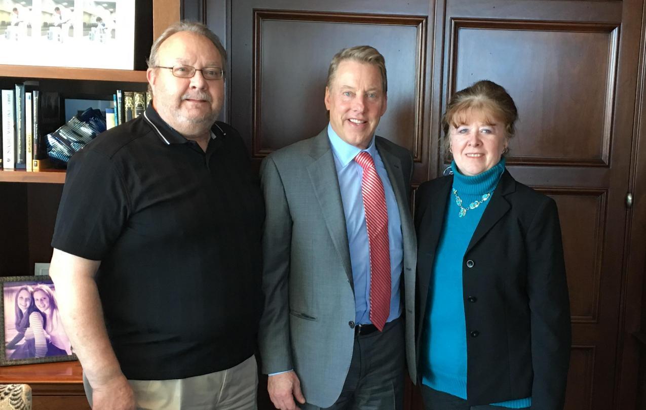 Gary Ginnard, Bill Ford, Linda Ginnard